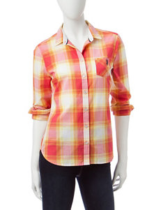 U.S. Polo Assn. Orange Shirts & Blouses