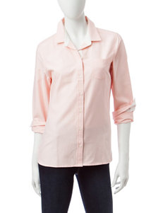 U.S. Polo Assn. Peach Shirts & Blouses