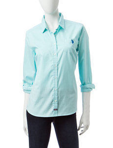 U.S. Polo Assn. Mint Shirts & Blouses