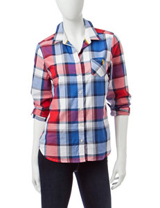 U.S. Polo Assn. Red Shirts & Blouses