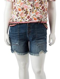 Hippie Laundry Blue Denim Shorts