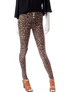 Wishful Park Cheetah Skinny Stretch