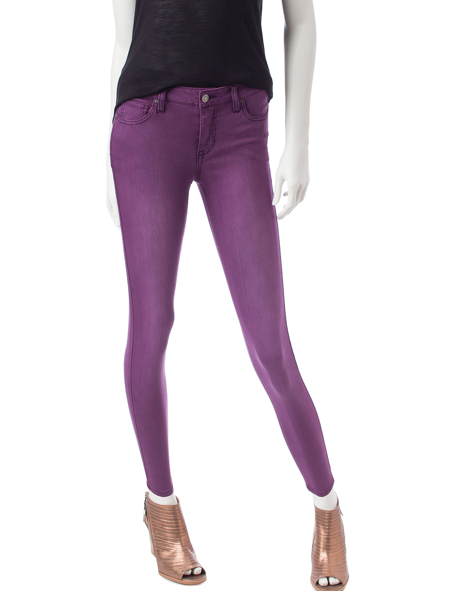 Celebrity Pink Purple Skinny Stretch