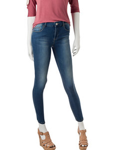 Almost Famous Dark Wash Jeggings Skinny