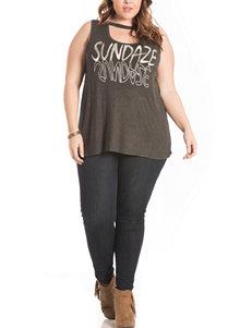 Eyeshadow Charcoal Shirts & Blouses