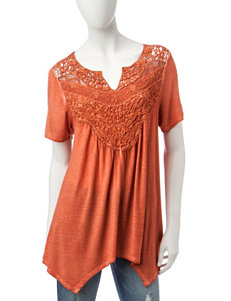 Signature Studio Rust Shirts & Blouses
