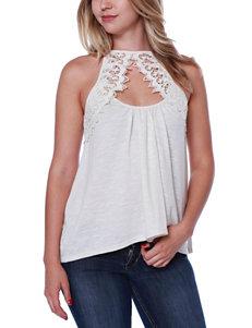 Taylor & Sage Beige Shirts & Blouses