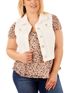 WallFlower Ivory Denim Jackets