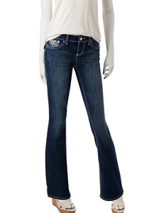 Sound Girl Dark Blue Bootcut