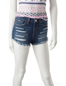 Almost Famous Destructed Jean Shorts