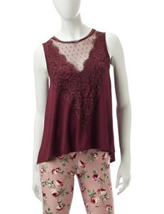 WallFlower Cranberry Shirts & Blouses