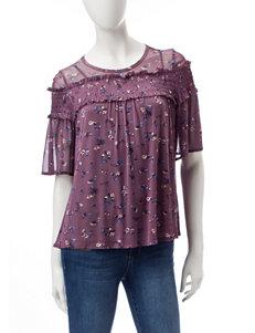 Jolt Purple Shirts & Blouses