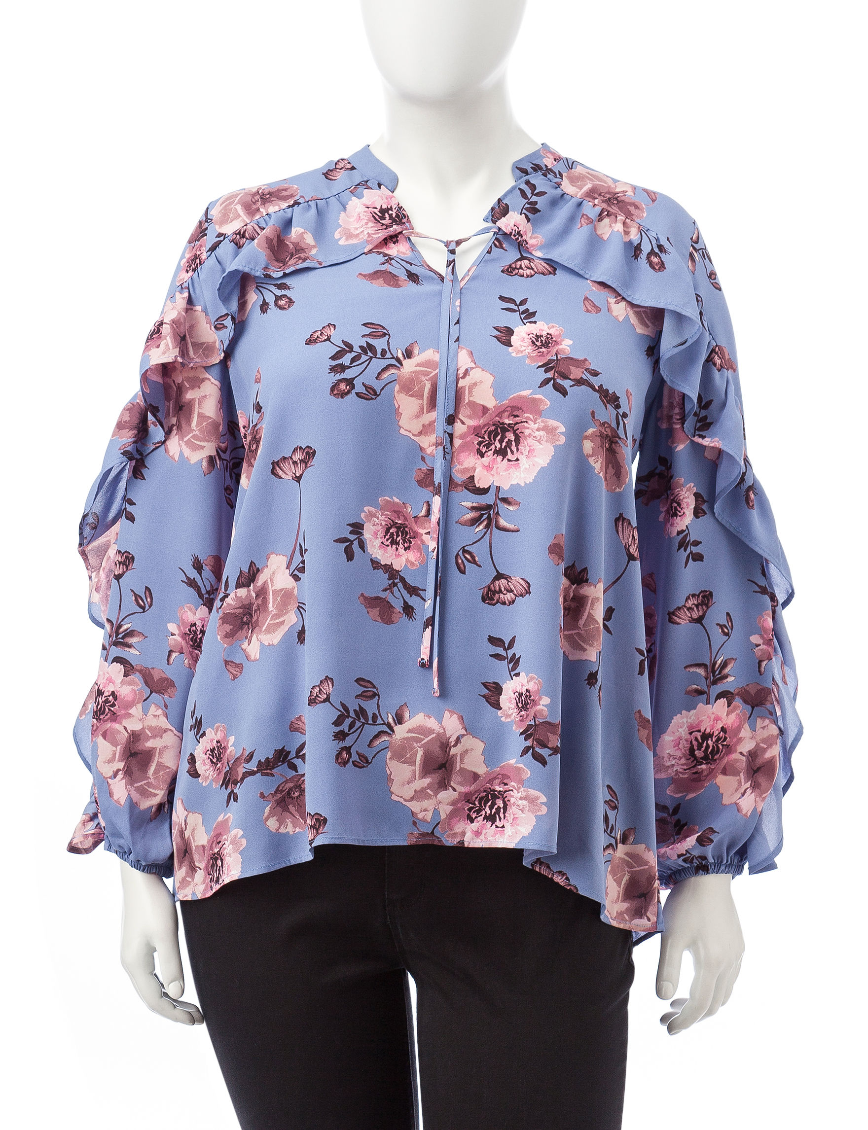 Justify Lavender Shirts & Blouses