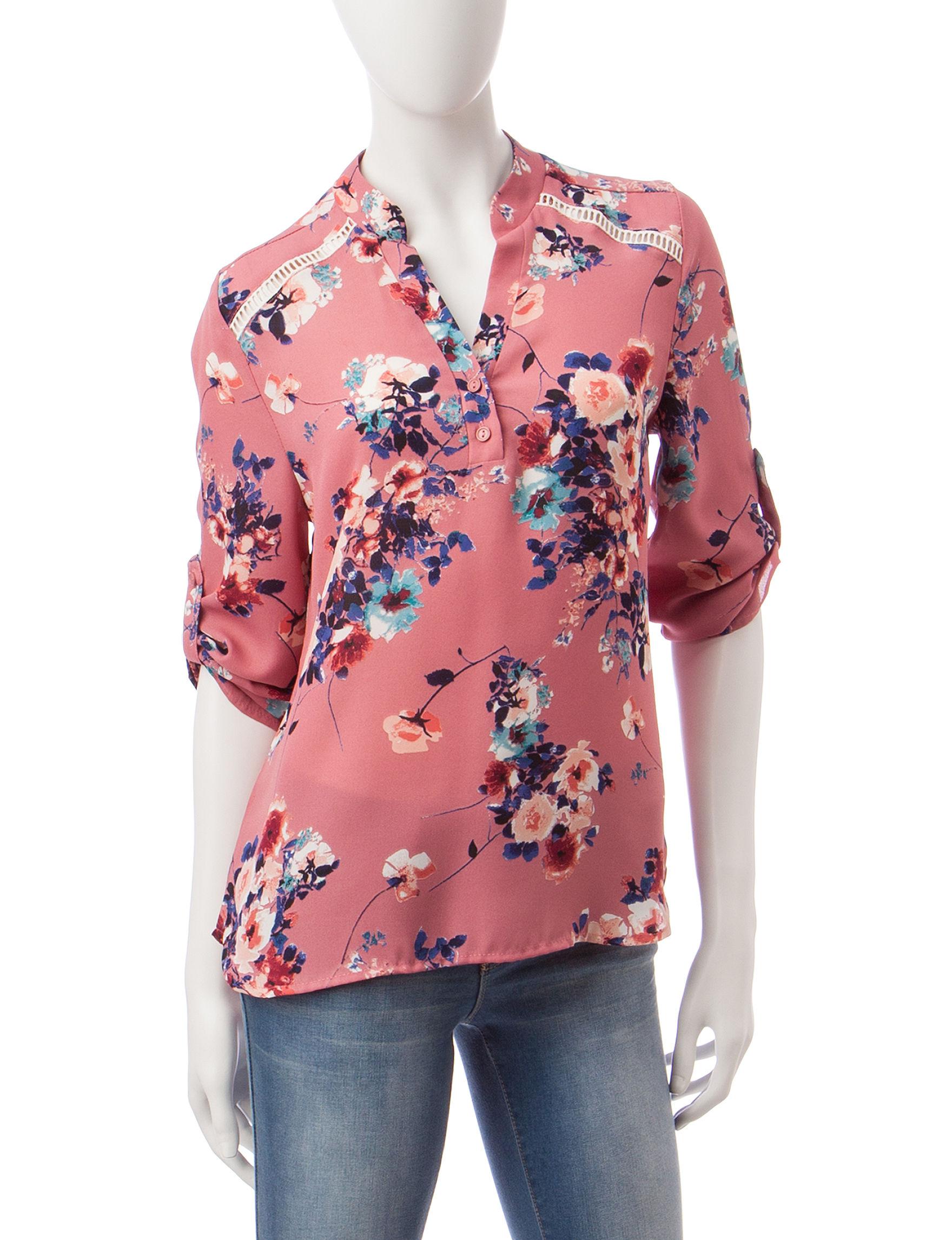 Wishful Park Mauve Shirts & Blouses