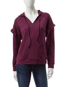 Jolt Burgundy Shirts & Blouses