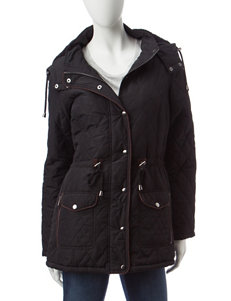 Ashley Black Puffer & Quilted Jackets