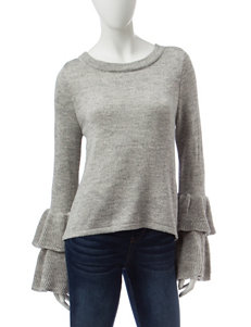 Almost Famous Grey Cardigans Sweaters