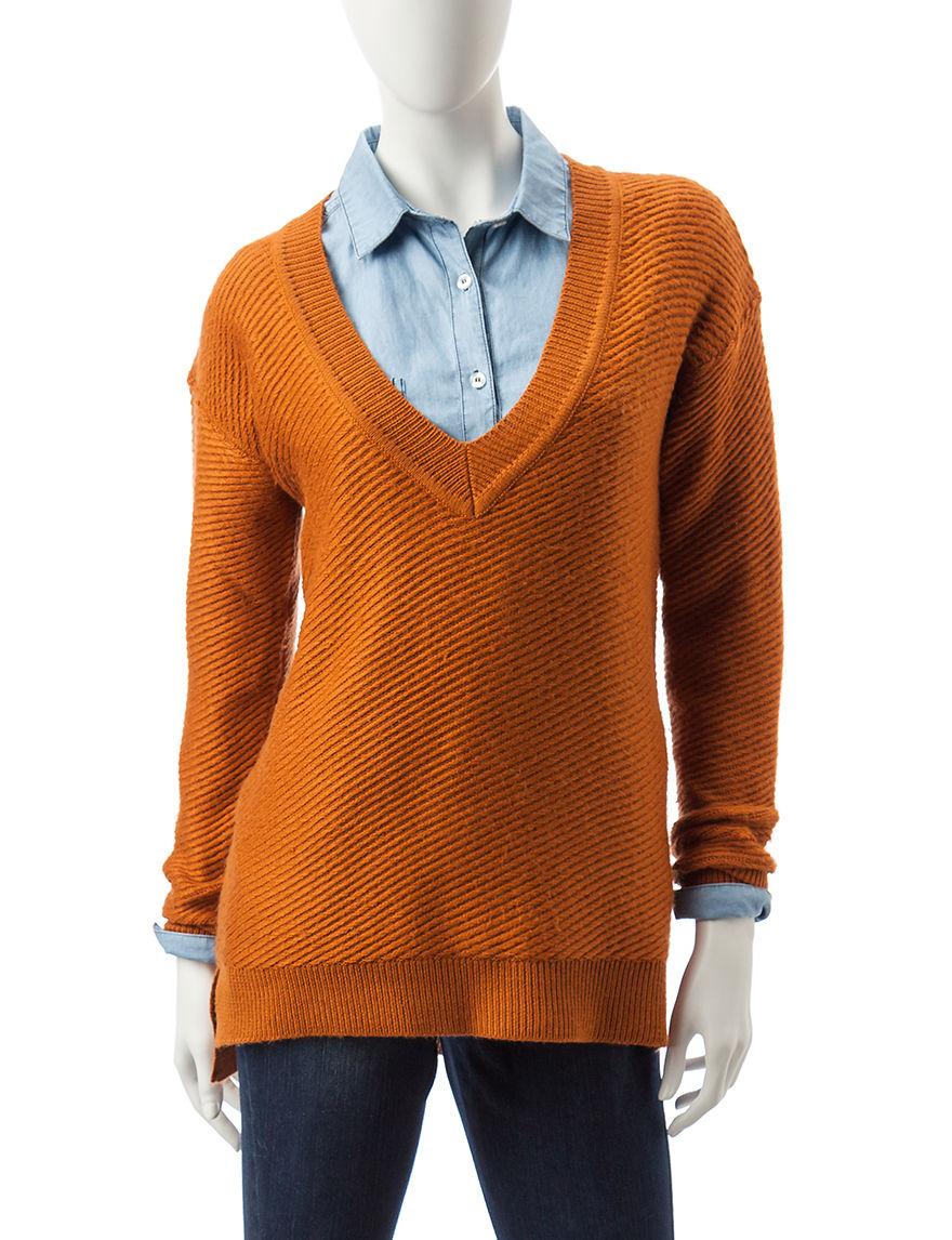 Signature Studio Brown Sweaters