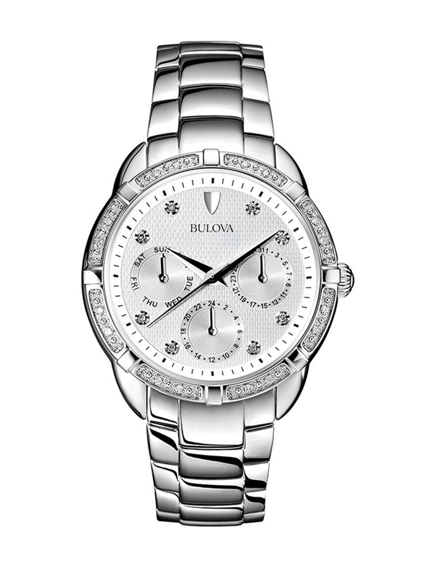 Silver Fashion Watches