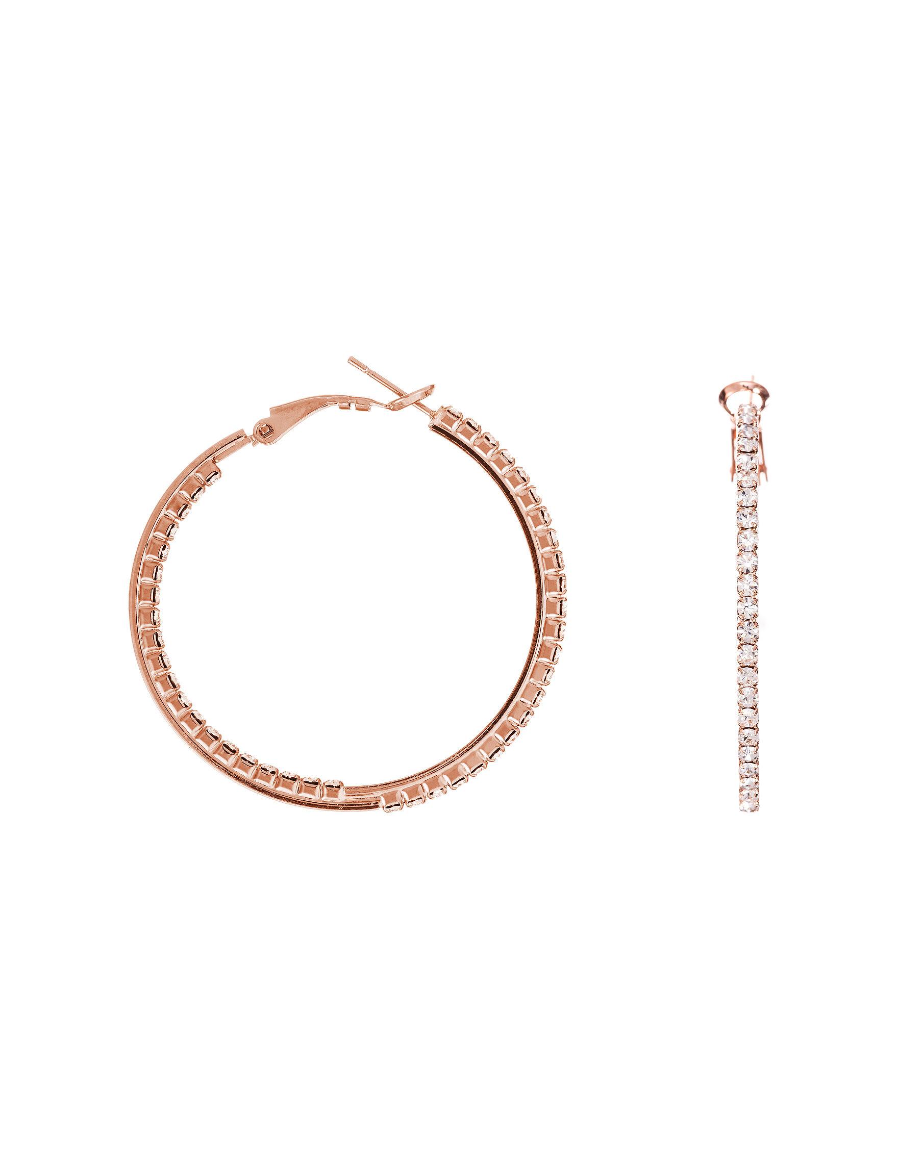 40mm hoop earrings