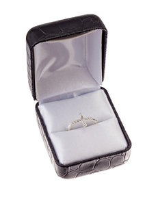 City by City Sideways Cross Ring - Gift Boxed