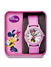 Disney Minnie Mouse Pink Strap Watch