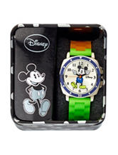 Disney Mickey Multicolor Silicone Strap Watch