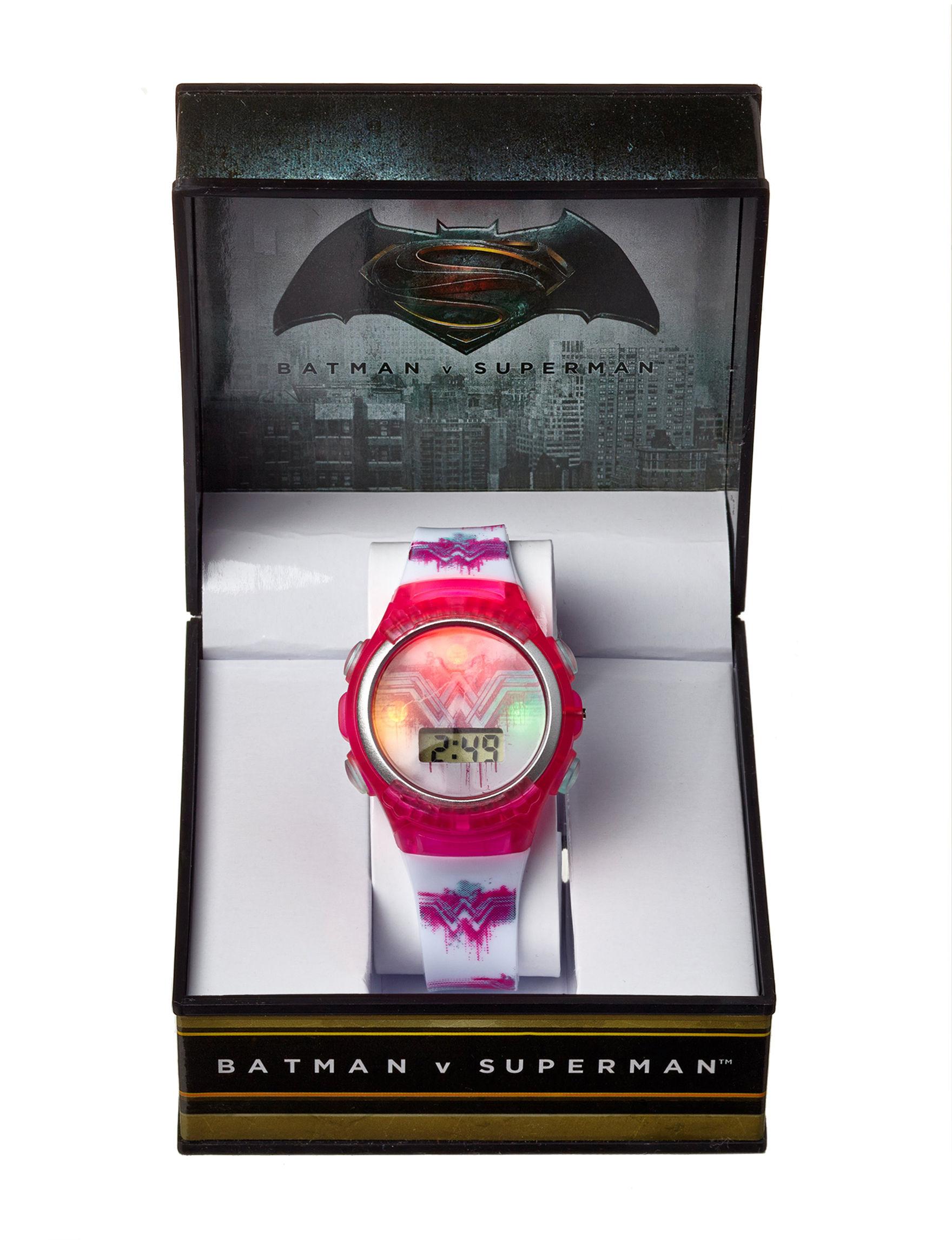 DC Comics Pink Fashion Watches