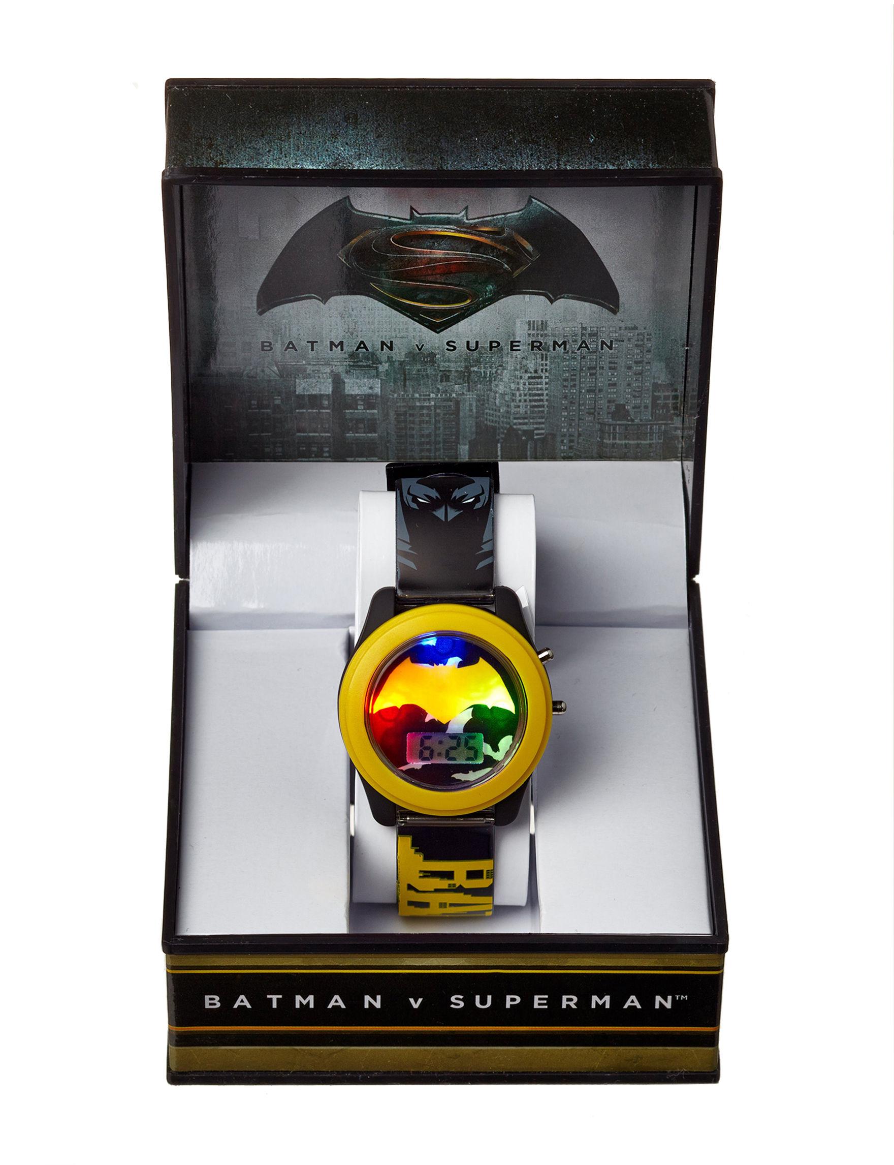 DC Comics Yellow Fashion Watches