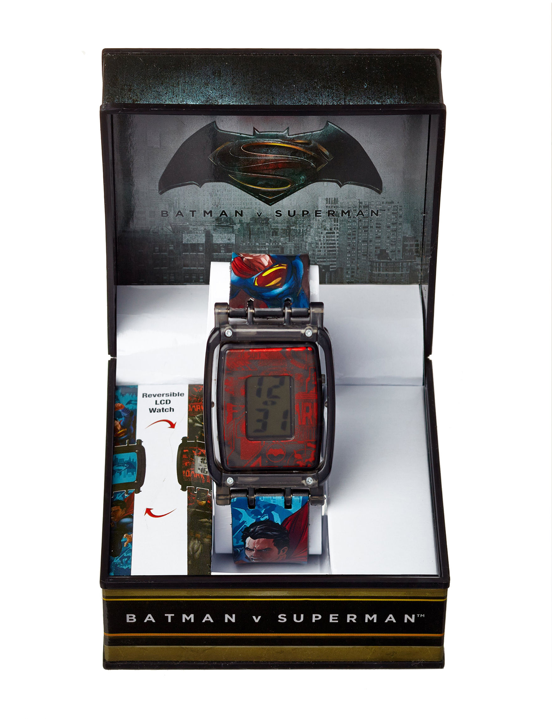 DC Comics Blue Fashion Watches