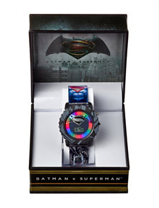 DC Comics Black Fashion Watches