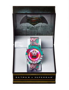 DC Comics Teal Fashion Watches