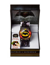 DC Comics Batman V Superman Cover Flash Watch