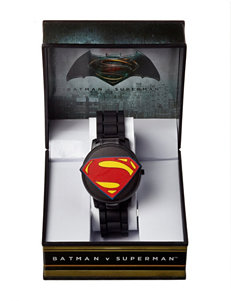 DC Comics Black Fashion Watches