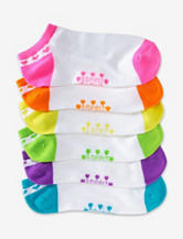 Esprit 6-pk. Neon No-Show Socks – Girls