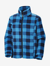Columbia Zing Buffalo Plaid Fleece Jacket – Boys 4-7