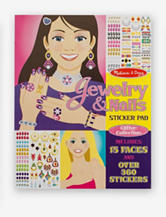 Melissa & Doug Glitter Collection Jewelry & Nails Sticker Pad