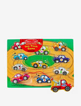 Melissa & Doug Magnetic Wooden Tow Truck Game