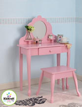 KidKraft® Medium Diva Table & Stool – Pink