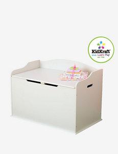KidKraft® Austin Toy Box – White