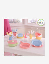 KidKraft® 27-pc. Cookware Playset  – Pastel Colors