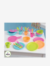 KidKraft® 27-pc. Bright Cookware Set – Bright Colors