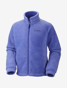 Columbia Benton Springs Purple Fleece Jacket – Girls 4-14
