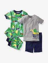 Carter's® 4-pc. Monster Construction Pajamas – Toddler Boys