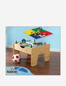 KidKraft® Activity Table With Lego Board – Natural