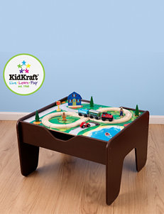 KidKraft® Activity Table With Lego Board – Espresso