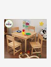 KidKraft® Farmhouse Table & 4 Chairs – Natural