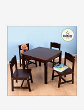 KidKraft® Farmhouse Table & 4 Chairs – Espresso