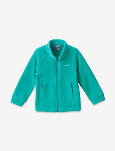 Columbia Mint Fleece & Soft Shell Jackets