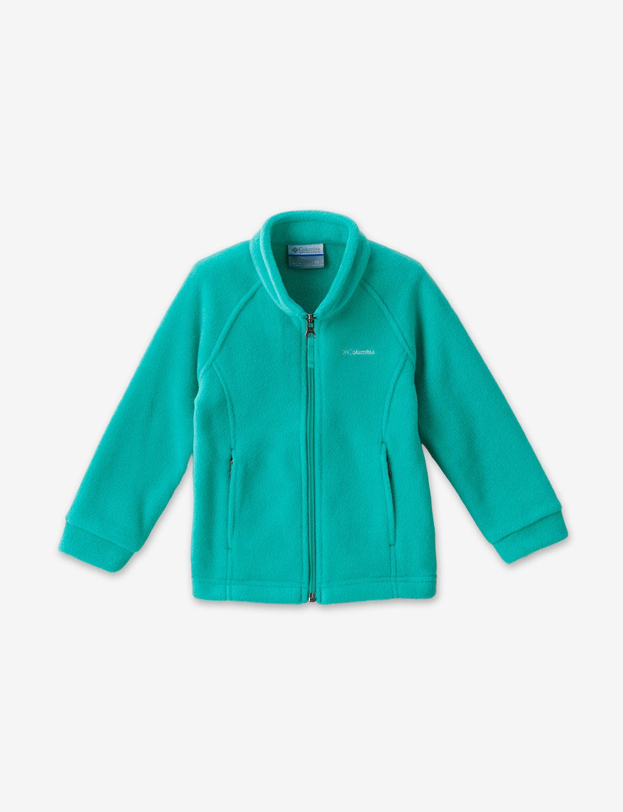 Columbia Mint Fleece & Soft Shell Jackets